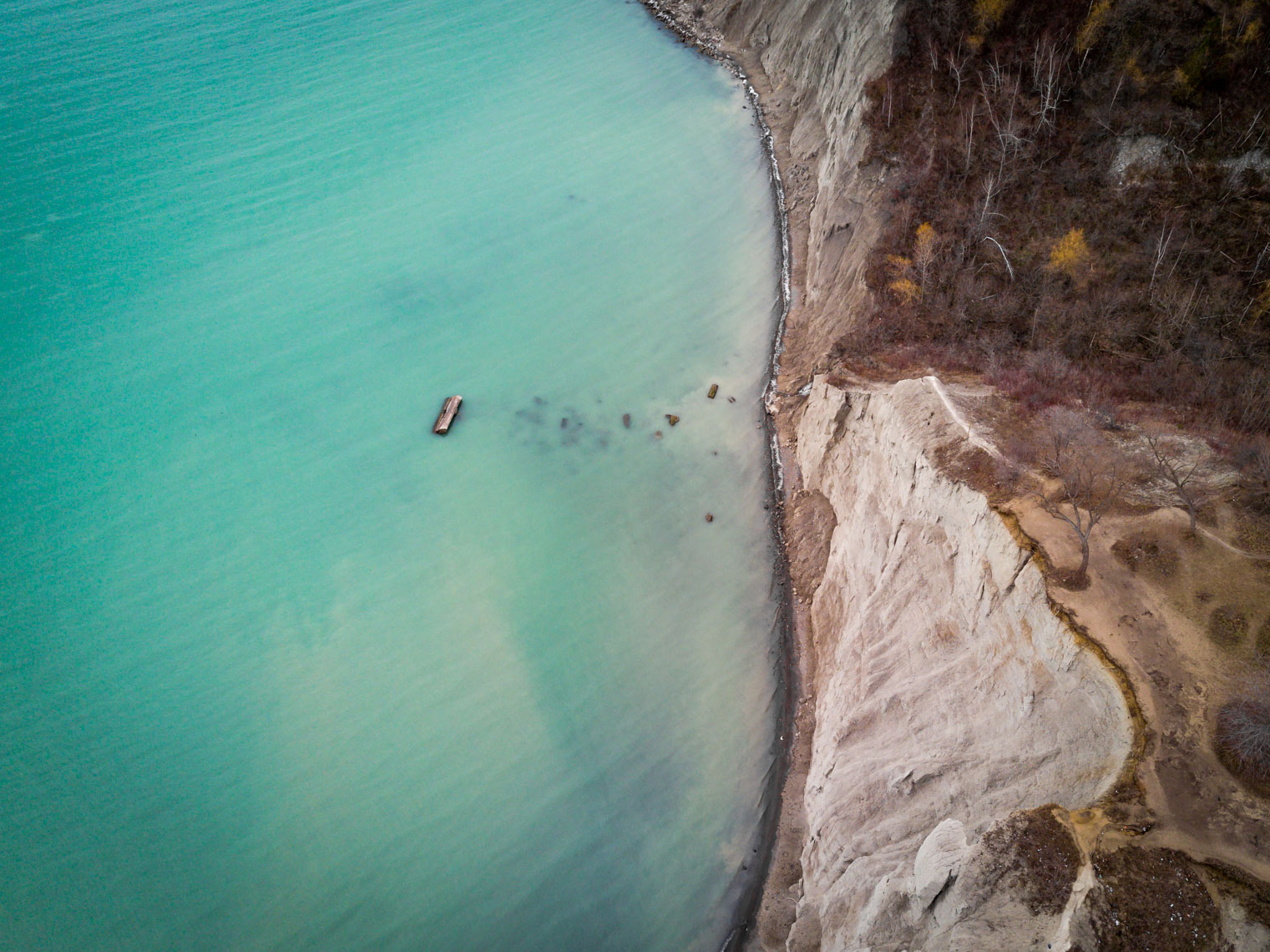 Aerial view of Lake Ontario & Scarborough Bluffs © David Coulson Canadian conservation photohrapher